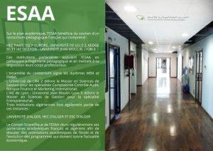 Présentation ESAA