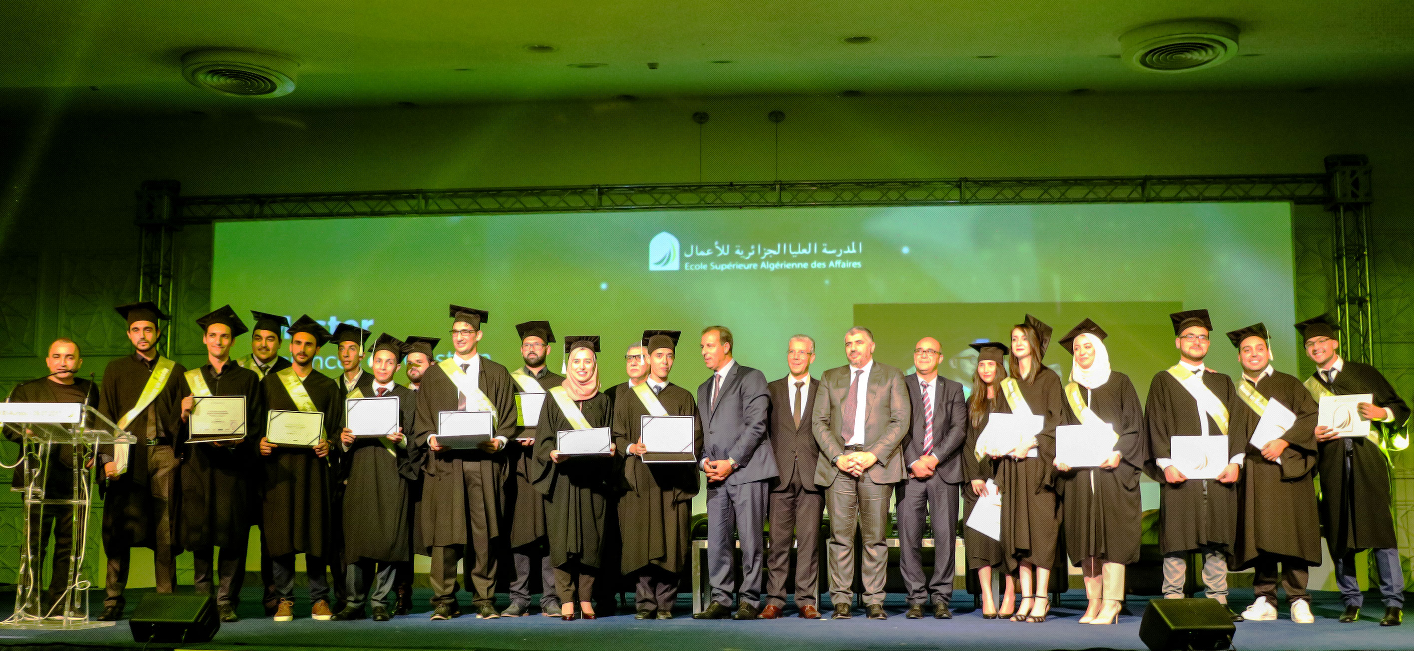 Remise de diplômes ESAA