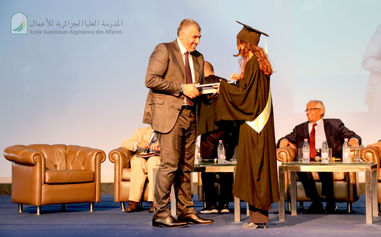 Remise de diplôme ESAA 2017