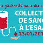 Don de sang à l'ESAA