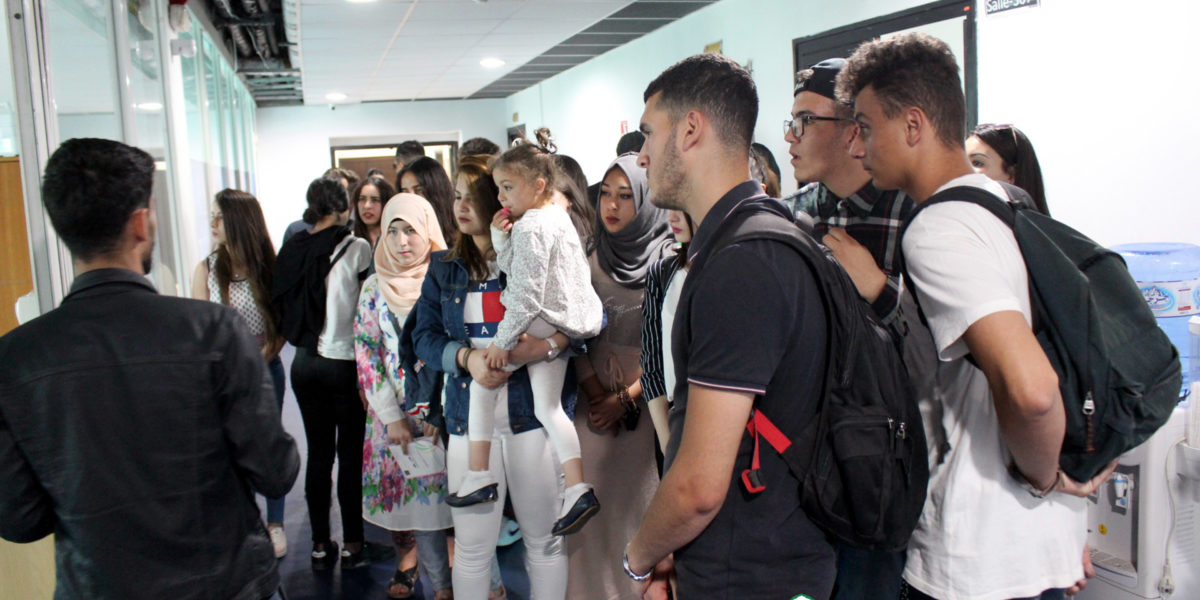 L'ESAA recoit les etudiants du lycée sehoui aldjia