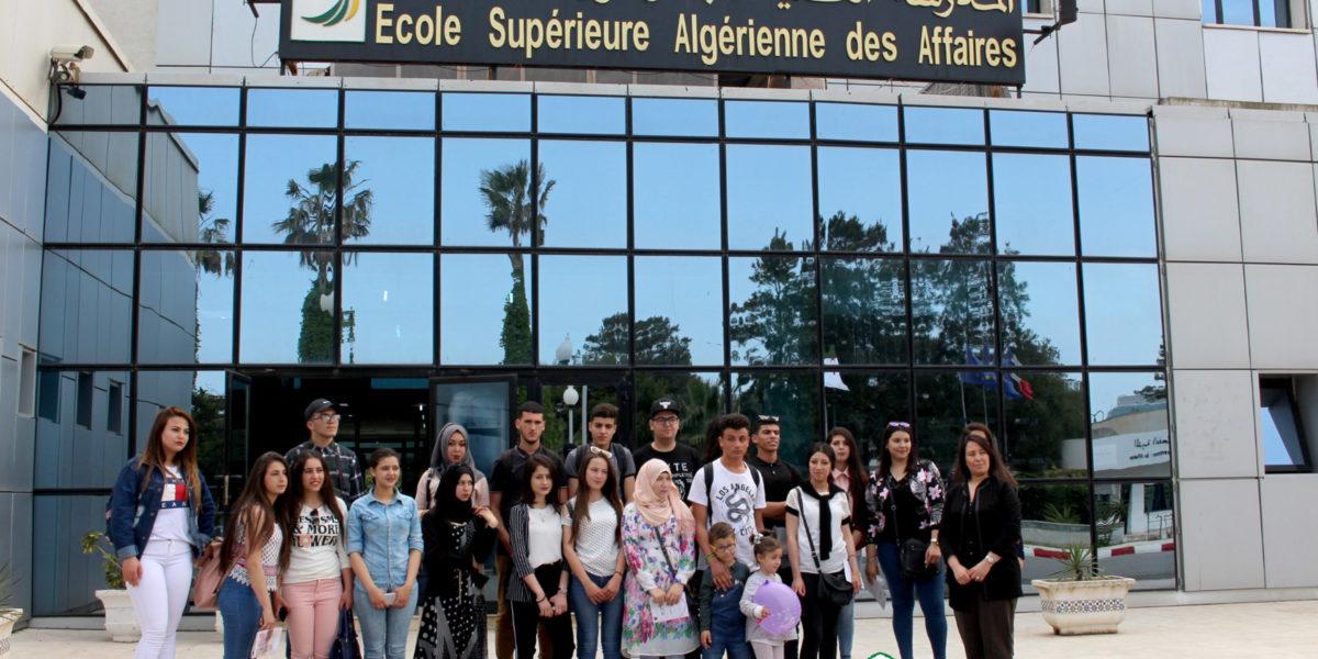 Visite de l'ESAA par les élèves du lycée SEHOUI ALDJIA